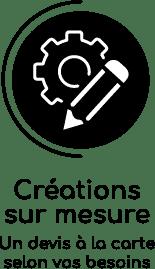 Devis créations sur mesure